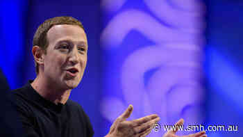 Facebook is again trying to build a shopping empire, and Zuckerberg is on the front line - Sydney Morning Herald