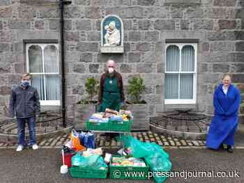 Aberdeenshire church finds new ways to feed homeless after stopping serving hot meals | Press and Journal - Press and Journal