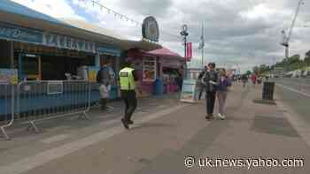Visitor numbers to Southend-on-Sea fairly small - Yahoo News UK