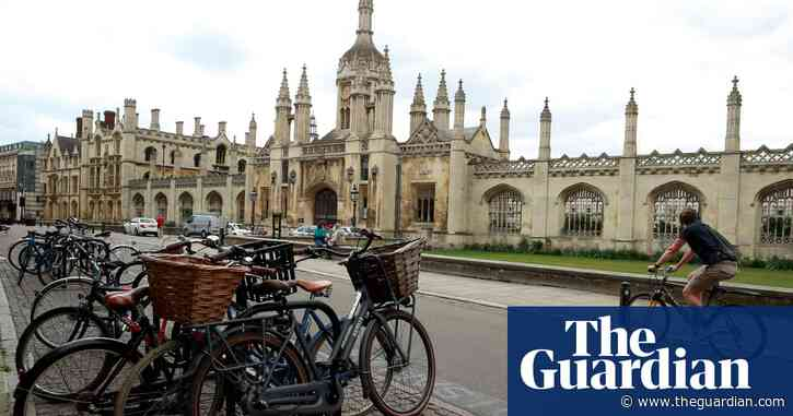 Cambridge University moves all lectures online until summer 2021