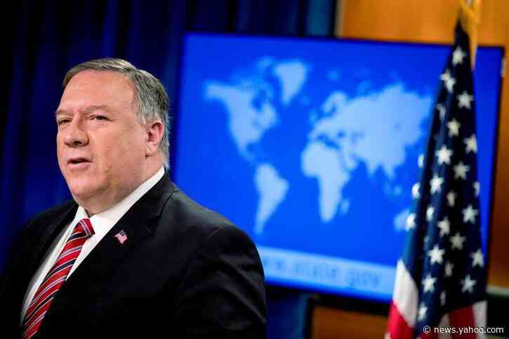 Pompeo says intent to fire State Dept. IG was not retaliation: Washington Post