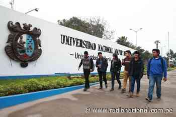 Universidad Nacional Mayor de San Marcos cumple hoy 469 años - Radio Nacional del Perú