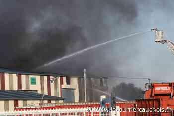 Lillebonne. Violent incendie industriel - Le Courrier Cauchois