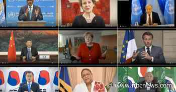U.S.-China clash dominates as WHO summit highlights coronavirus tensions