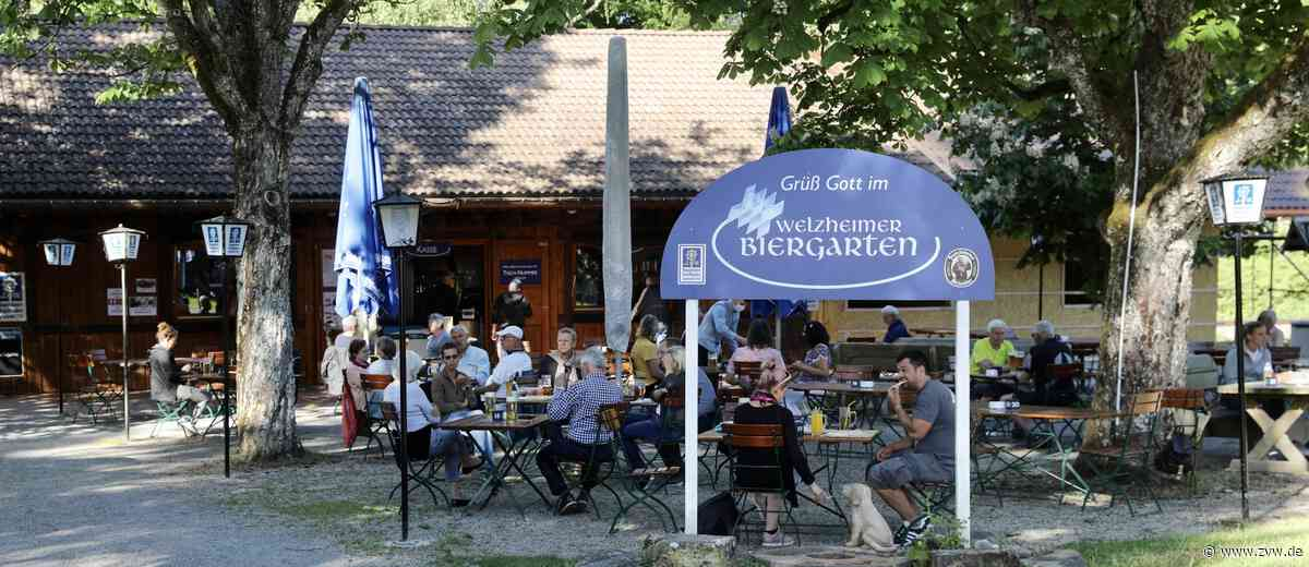 Zahlreiche Gäste kommen nach der Corona-Pause in den Welzheimer Biergarten - Welzheim - Zeitungsverlag Waiblingen
