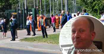 Tram workers line streets to pay tribute to Croydon ticket inspector who died from coronavirus - MyLondon
