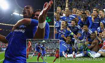 Chelsea legend Didier Drogba reveals a fascinating tale behind the club's 2012 Champions League win