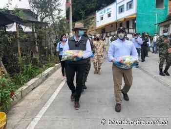 Entregaron 7.220 kits de alimentos a la comunidad en Otanche y San Pablo de Borbur - Extra Boyacá
