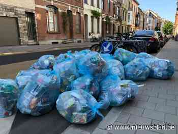 40 procent meer blauwe zakken opgehaald door coronacrisis en nieuwe regels