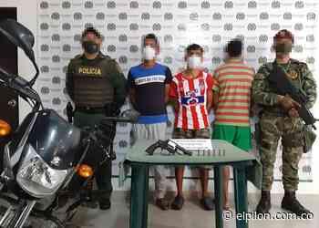 Detienen a sospechosos de apuñalar a vigilante en un robo en Pelaya - ElPilón.com.co
