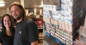 This man is feeding his entire town during the pandemic with weekly Costco runs