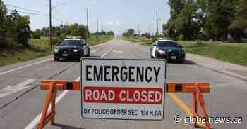 Highway 7/8 closed near Baden after collision involving transport truck - Globalnews.ca