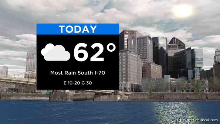 Pittsburgh Weather: Wind & Cooler Temperatures Move Through The Area