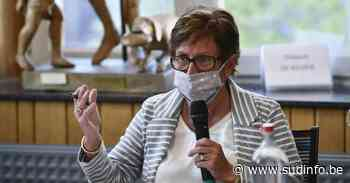 Michèle Mons Delle Roche estime déjà être victime de sabotage: «L'ancienne majorité ne m'a laissé qu'une petite agrafe...» - Sudinfo.be