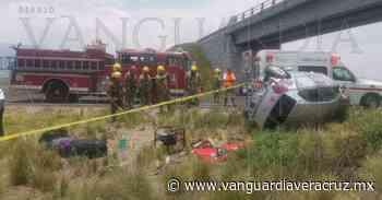 Automovilista muere en brutal accidente en Perote - Vanguardia de Veracruz