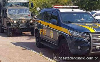 PRF e EB prendem foragido em Santana do Livramento - Gazeta de Rosário