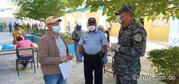 Policía Escolar supervisa centros educativos de Nagua, Gaspar Hernández y Moca - Hoy Digital (República Dominicana)