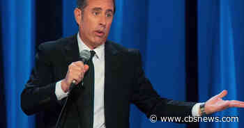 Jerry Seinfeld on missing audiences, comedy before smartphones, and Zoom backgrounds - CBS News