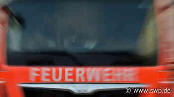 Brand in Waltenhausen bei Krumbach: Feuer in einer Zimmerei - 100 Kräfte der Feuerwehr im Einsatz - SWP