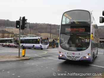 Double decker buses across Calderdale only allowing 19 passengers at one time - Halifax Courier