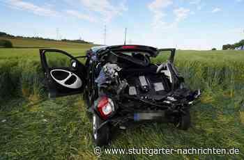 Unfall in Remseck - Schwerer Unfall – Frau muss aus Auto gerettet werden - Stuttgarter Nachrichten