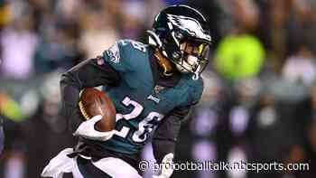 Miles Sanders: Eagles drafted me to be the lead back