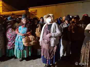 Oruro: Eucaliptus garantiza trabajo de policías y personal médico pero condiciona retorno - eju.tv
