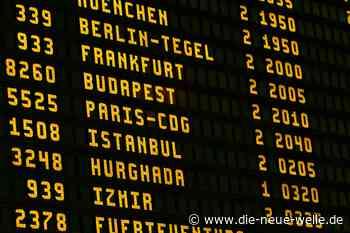 Masken und Abstand - neue Regeln am Flughafen Karlsruhe/Baden-Baden - die neue welle