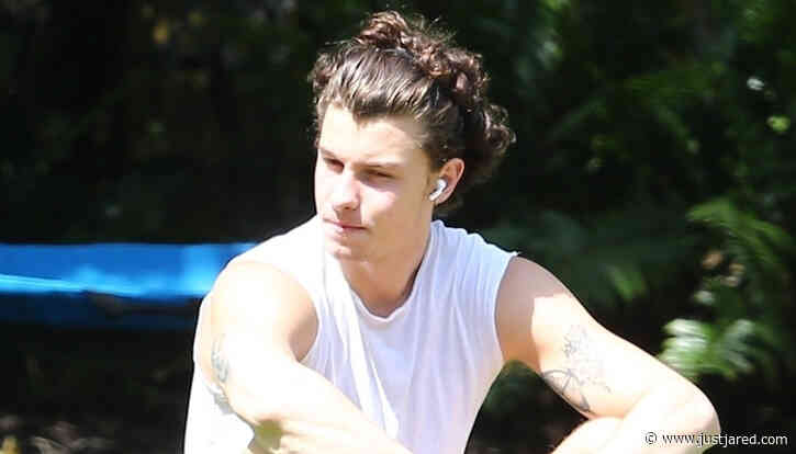 Shawn Mendes Spends Some Time Soaking Up the Miami Sun