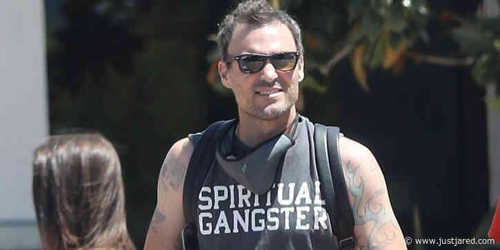 Brian Austin Green Steps Out After Confirming Megan Fox Split