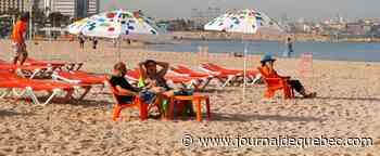 En Israël, retour au bonheur des plages après le confinement