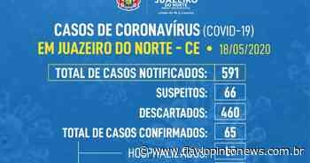 Nesta segunda - Juazeiro do Norte registra oitava morte por Covid-19 - Flavio Pinto