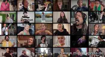 """""""Times Like These"""": Diese Allstars covern gemeinsam Foo Fighters für guten Zweck - Musikexpress"""