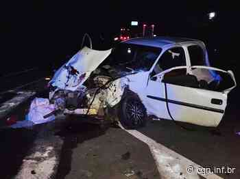 Homem e criança morrem em grave acidente em Coronel Vivida - CGN