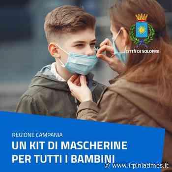 Solofra, iniziata la distribuzione di mascherine per bambini - https://www.irpiniatimes.it