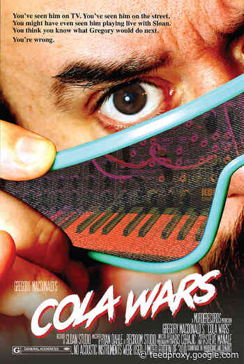 Sloan keyboardist Gregory Macdonald releases synth solo LP as Cola Wars (watch the trailer)