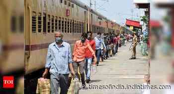 Operated 1,813 'Shramik Special' trains since May 1; 204 trains run on Tuesday: Railways