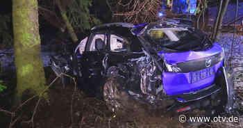 Teunz: Zwei Schwerverletzte bei Frontalcrash | Oberpfalz TV - Oberpfalz TV