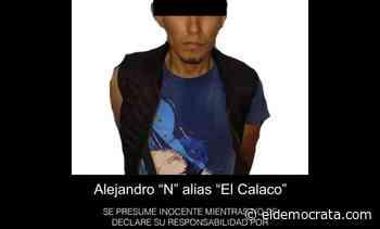 Cae presunto líder de grupo delincuencial en Paso del Macho - El Demócrata
