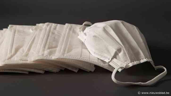 22.491 mondmaskers worden volgende week gebust in Lochristi