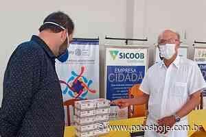 Rotary Clube de Lagoa Formosa doa 200 testes para detecção de coronavírus para a Prefeitura - Patos Hoje - Notícias de Patos de Minas