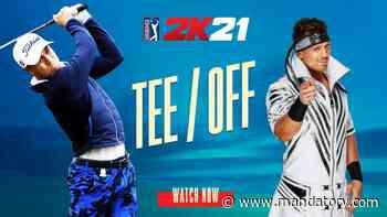 The Miz Welcomes PGA Tour 2K21 Cover Athlete Justin Thomas To The 2K Family