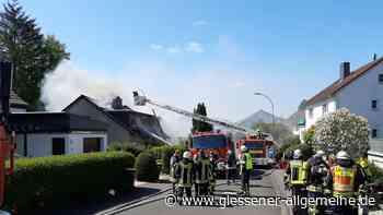 Laubach: Großer Einsatz der Feuerwehr - Brand richtet hohen Schaden an | Laubach - Gießener Allgemeine