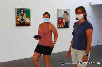 Met mondkapje op naar Roger Raveelmuseum