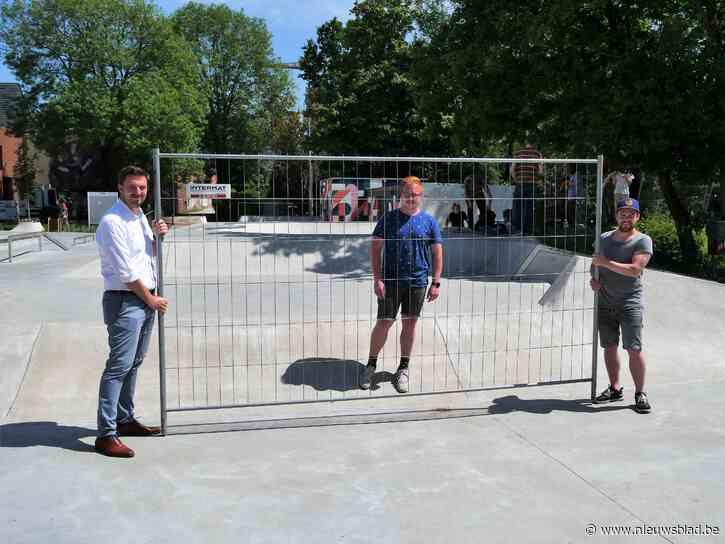 Skateparken vanaf Hemelvaartdag weer open