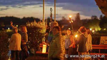 Flashmob für offene Grenzen in Oberndorf und Laufen - SALZBURG24