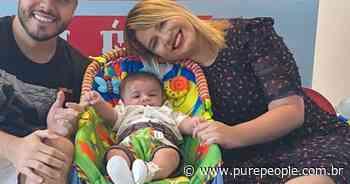Léo cresceu! Marília Mendonça exibe foto do filho e encanta Gusttavo Lima - Purepeople.com.br