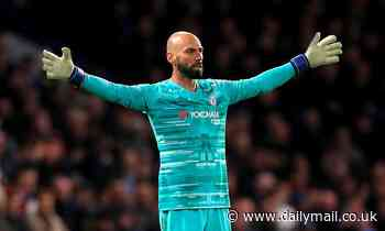 Willy Caballero becomes first Chelsea player to sign a contract extension ahead of Project Restart