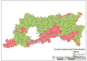 Gouverneur legt captatieverbod op uit waterlopen in tien Pajotse gemeenten