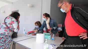 Première distribution de masques gratuits à Avesnes-sur-Helpe - La Voix du Nord